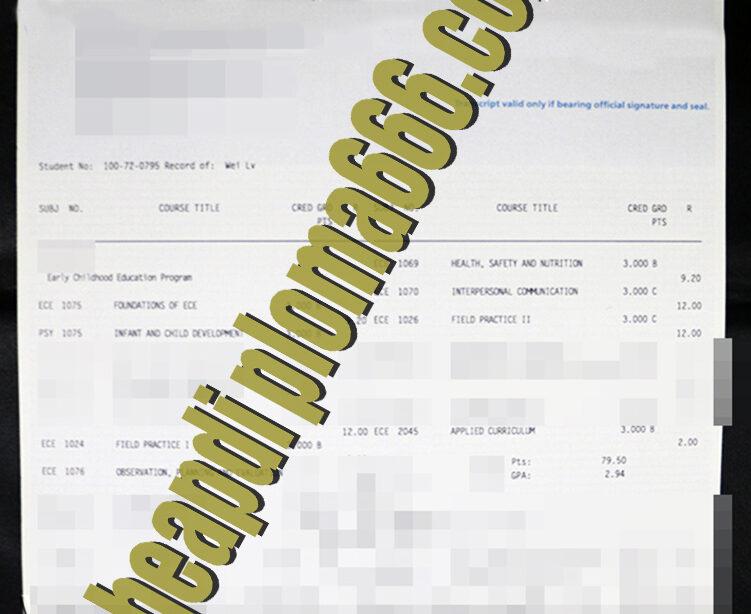 buy George Brown College transcript