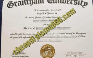 Grantham University certificate