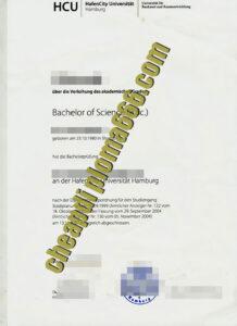 HCU fake degree certificate